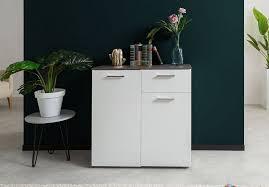newroom kommode jaime sideboard weiß beton modern landhaus highboard wohnzimmer schlafzimmer flur esszimmer kaufen otto