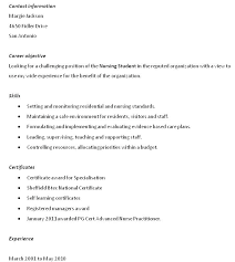 Hospice Nurse Resume Great Objective For Your Alluring Sample Nursing Objectives Examples Template Rn