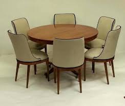 Art Deco Dining Table And Chairs Room Six