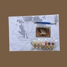 Virgo Frameless Pintura De Acrílico Por Números Dibujo