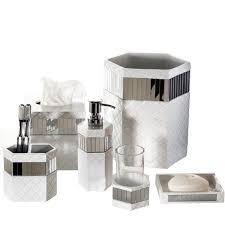 Crackle Glass Bathroom Set by Mirror Bathroom Accessories Sets Best Bathroom Decoration