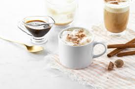 Starbuck Pumpkin Spice Latte Uk by Homemade Pumpkin Spice Latte With Salted Pumpkin Spice Syrup U2014 Oh
