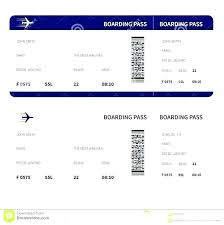 Cruise Ticket Template Free Fake Boarding Pass Printable Airline Tickets Pa Templates Emirates Airlines
