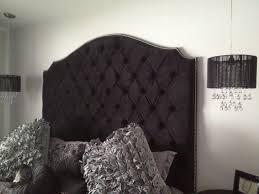Black Leather Headboard King by Fresh Finest Black Leather Upholstered Headboard 21307