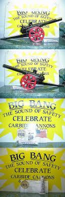 cast iron 721 15 f new in box big bang cannon bangsite calcium