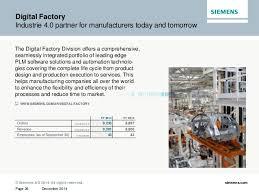 the company siemens 2014 2