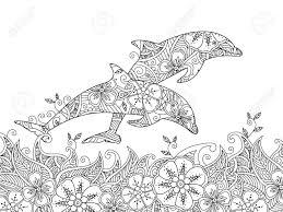 Ilustración De Dibujos Para Colorear Libro Para Colorear Para