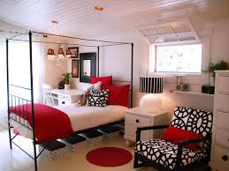 custom photo of 15 pleasant black white and red bedroom ideas 1
