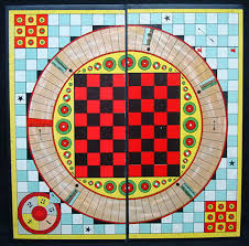 Framed Game Board CATS 1930 Stock N 9403