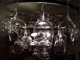 Bespoke Wine Glass Chandelier   Chantelle Lighting ... Picture ... Lighting Lamp Wine Glasses Chandelier Pottery Barn Chandeliers Glass Ebay The Lush Nest Eat Host Dwell Recycled Beaded Blue Shades Maria Theresa Murano Globe Kitchen Best Simple Inspiration Litecraft Your Home Youtube Design Emery