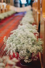 Wedding Flowers For Church Aisle Memorable Here Are Ideas Romantic