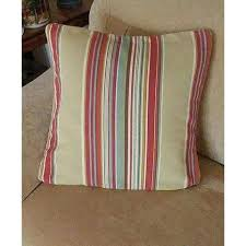 Pottery Barn Decorative Pillow Inserts by Pottery Barn Stripe Tan Teal Rust Pb Insert Throw Pillow