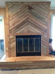 Jasons Handyman Service Madison Ga 706 818 0315 Pallet Wood Herringbone Fireplace