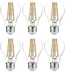 amazonbasics 75 watt equivalent clear non dimmable a19 led