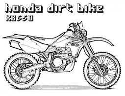 Dirt Bike Coloring Pages To Print