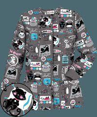 Ceil Blue Print Scrub Jackets by 65 Best Scrubs Images On Pinterest Scrub Tops Veterinary Scrubs