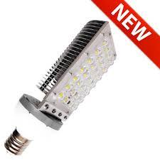 28w e40 or e39 mogul base aluminum fin led light bulbs