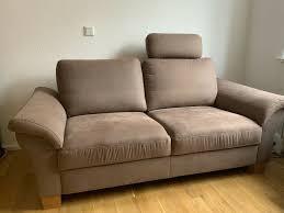 2er sofa neuwertig möbel wikinger braun np 795