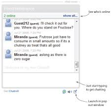 Food Chat Room