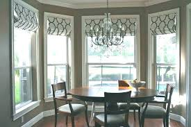 Window Treatments Dining Room Bay Windows