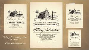 Read More RUSTIC COUNTRY OLD BARN WEDDING INVITATIONS
