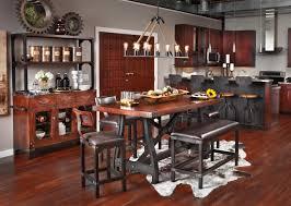 Furniture Row Kitchen Tables Bar Stools Oak Dining