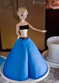 frozen princess cake elsa fondant