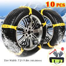 100 Truck Snow Tires Amazoncom BESAZW Newest Version Car Chains Portable