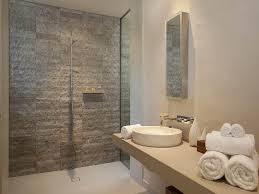 exposed brick in a bathroom design from an australian home bathroom