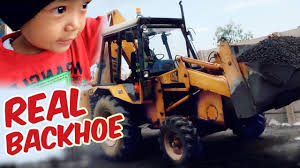 Real Excavator Backhoe (Construction Trucks Video For Kids) - YouTube Cartoons For Children The Excavator Cstruction Trucks Video Learn Colors With Truck Video Kids Youtube Australia Vehicles Toys Videos Yellow Crane And Tractor Toy Dump Tow Truck Garbage Monster Compilation L Videos For Kids Heavy Photos Of Group 73 Street Sweeper Street Sweepers Bulldozer Children Grouchy The Vs