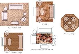 Area Rug For Living Room Size What Of A Dining Table Oriental Apartment