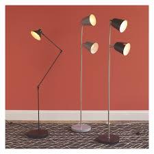 Black Multi Arm Floor Lamp by Floor Lamps Bruno Double Arm Floor Lamp Rejuvenation 151601 Rc