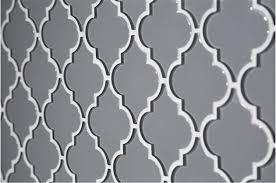 dove gray arabesque mosaic tile matching trims the builder