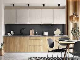 moderne küchenzeile einbauküche zoya 300 cm grifflos 10 tlg