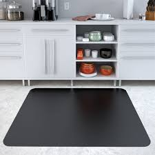 Hard Surface Office Chair Mat by Black Chair Mats Are Black Office Desk Mats By American Floor Mats