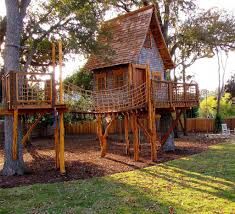 Treehouse Designs Reach New Heights - San Antonio Express-News This Is A Tree House Base That Doesnt Yet Have Supports Built In Tree House Plans For Kids Lovely Backyard Design Awesome 3d Model Cool Treehouse Designs We Wish Had In Our Photos Best 25 Simple Ideas On Pinterest Diy Build Beautiful Playhouse Hgtv Garden With Backyards Terrific Small Townhouse Ideas Treehouse Labels Projects Decor Home What You Make It 10 Diy Outdoor Playsets Tag Tibby Articles