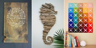 Clever Ideas Do It Yourself Wall Art Together With Decoration