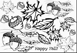 Amazing Printable Fall Coloring Pages Adult With And