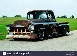1956 Chevrolet Custom Rat Rod Stock Photos & 1956 Chevrolet Custom ...