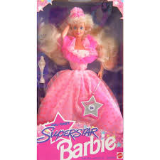 Superstar Barbie Doll WalMart Special Edition 1993