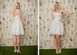 Rustic Short Wedding Gowns Chi 32191