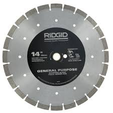 Cutting Glass Tile Backsplash Wet Saw by Ridgid 8 In Glass Tile Blade Hd Gt80p The Home Depot