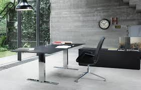 Jesper Office Desk 500 by Executive Variable Brings Height Adjustment To The Executive