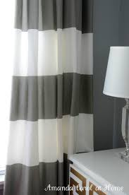 White And Gray Striped Curtains by Amazing Gray White Curtains 119 Hillcrest Gray And White Striped