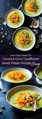 Vitamix Pumpkin Curry Soup by Coconut Curry Soup With Sweet Potato Noodles Food Faith Fitness