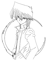 Yu Gi Oh Inspiration Graphic Yugioh Coloring Pages