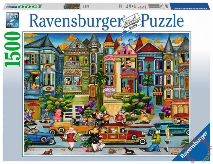 Ravensburger The Painted Ladies Jigsaw Puzzle