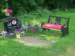 ideas for graveside decorations s horror as six year avery s grave is