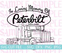 In Loving Memory Peterbilt Loss SVG Sticker Decal Car Decal Wings ... Creepy Monkey Custom Trailer Decals Wraps Signs And Designs Tx Wrap City Graphics Professionally Trained 3m Certified Design Truck Semitruck Sticker Genius Window Decals Signsational Get Noticed Precision Vehicle Roeda Semi Signage Total Impact Lettering Phoenix Az Lovely Badass Mini Japan