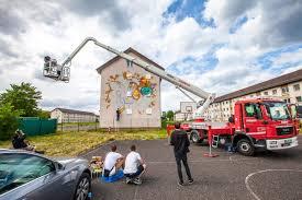 100 Mateco Truck Equipment Mural Painting At Benjamin Franklin Village Mannheim